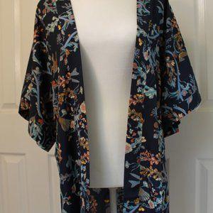 Jackets & Blazers - Blue Bird Kimono Jacket